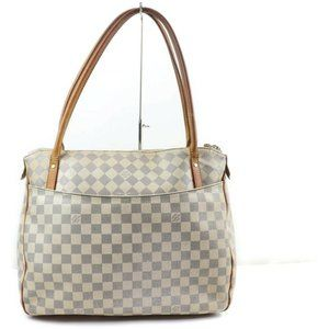 Louis Vuitton 872132 Damier Azur Figheri PM Tote